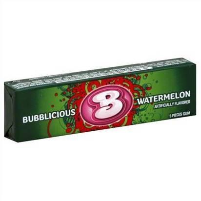 Bubblicious Gum - Watermelon (40 g.)