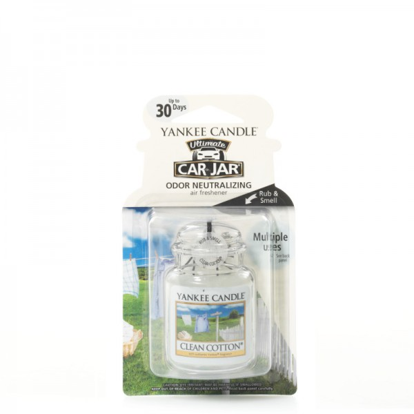 Yankee Candle Car Jar Ultimate Clean Cotton®