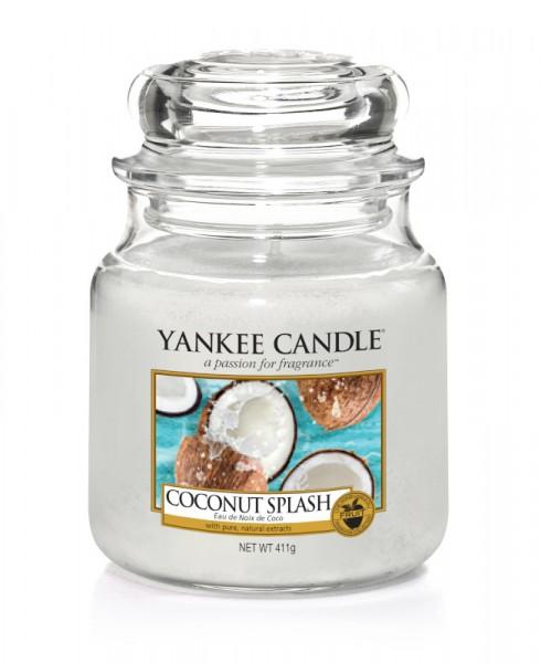 Yankee Candle Klassik Mittleres Glas Coconut Splash