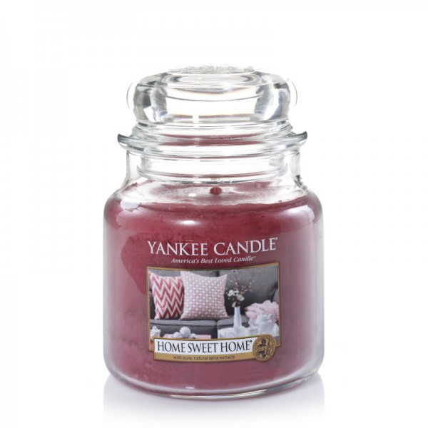 Yankee Candle Classic Mittleres Glas Home Sweet Home®