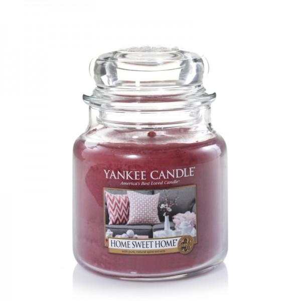 Yankee Candle Klassik Mittleres Glas Home Sweet Home®