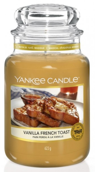 Yankee Candle Classic Großes Glas Vanilla French Toast