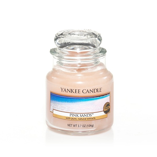 Yankee Candle Classic Kleines Glas Pink Sands™