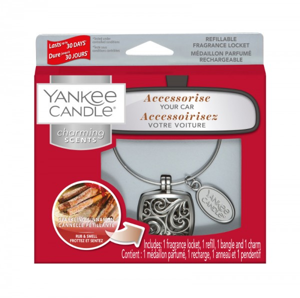 Yankee Candle Charming Scents Starter Kit Sparkling Cinnamon