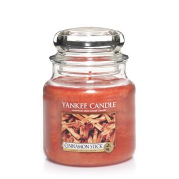 Yankee Candle Klassik Mittleres Glas Cinnamon Stick