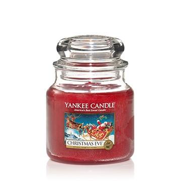 Yankee Candle Klassik Mittleres Glas Christmas Eve®