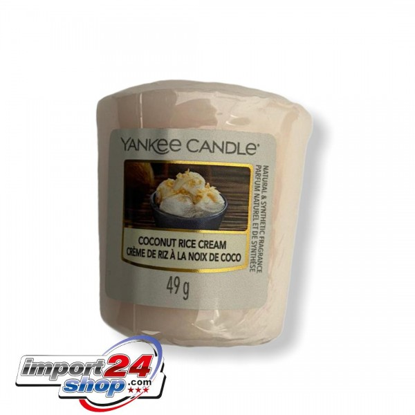 Yankee Candle Votive COCONUT RICE CREAM
