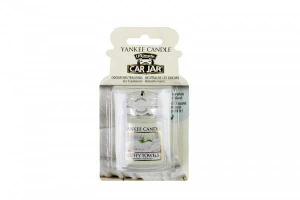 Yankee Candle Car Jar Ultimate Fluffy Towels™