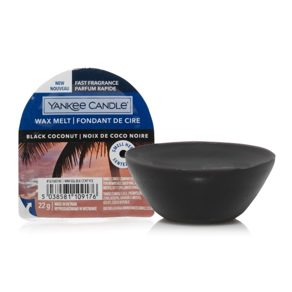 Yankee Candle Wax Melt Black Coconut