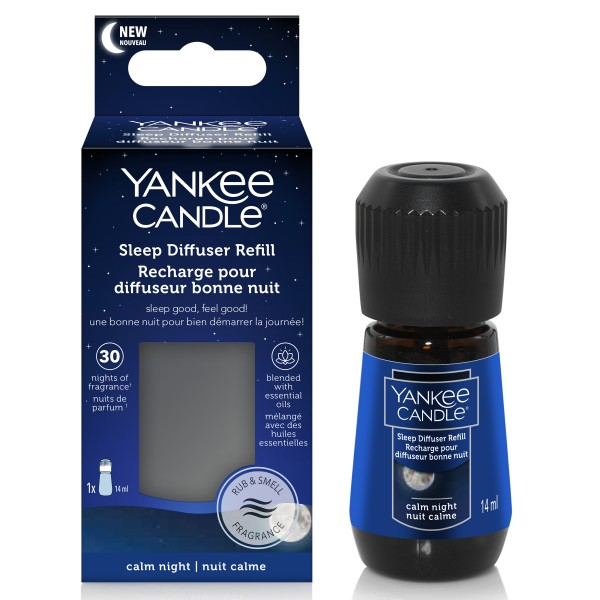 Yankee Candle Sleep Diffuser Refill Calm Night