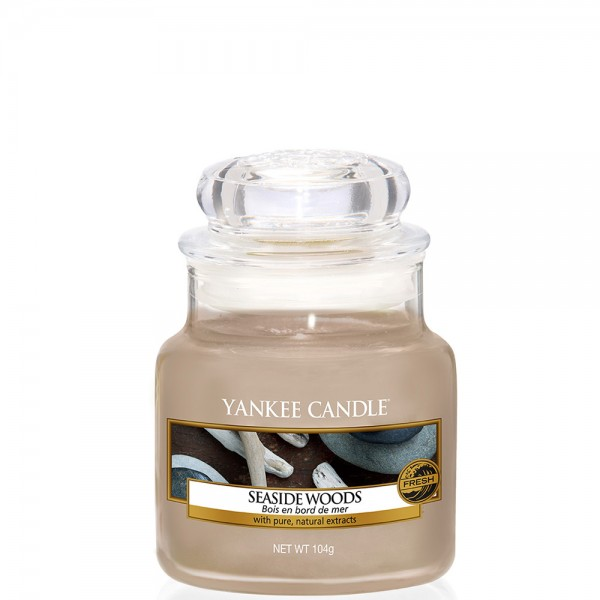 Yankee Candle Classic Kleines Glas Seaside Woods
