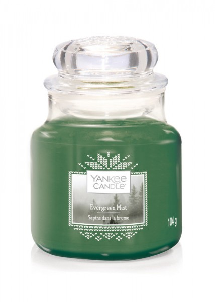 Yankee Candle Klassik Kleines Glas Evergreen Mist