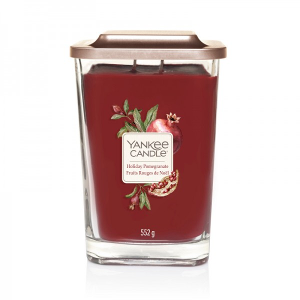 Yankee Candle Elevation Groß Holiday Pomegranate