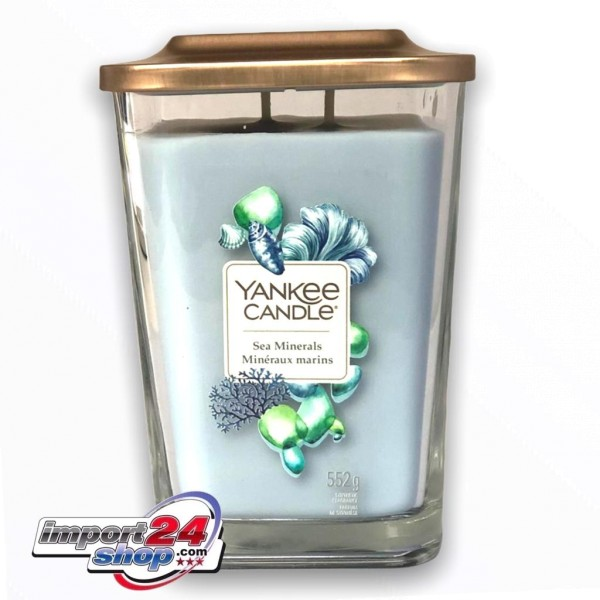 Yankee Candle Elevation Groß Sea Minerals