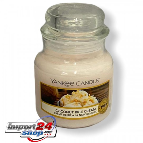 Yankee Candle Classic Kleines COCONUT RICE CREAM