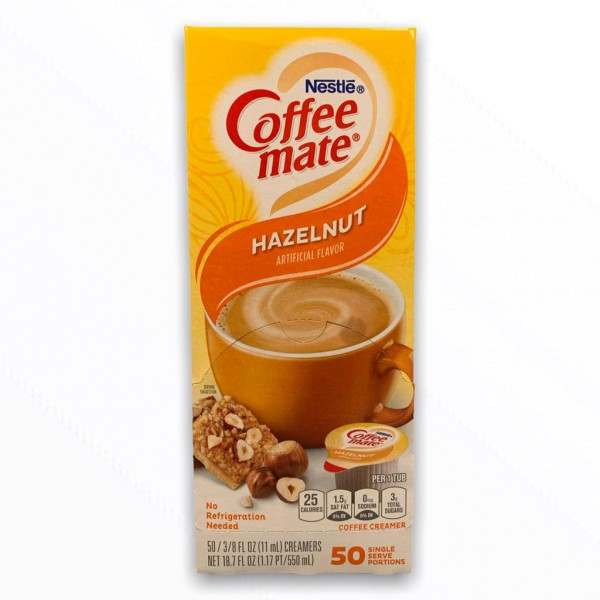 Nestle Coffeemate Hazelnut 50 x 11ml