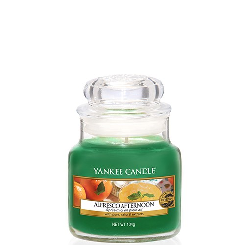 Yankee Candle Classic Kleines Glas Alfresco Afternoon