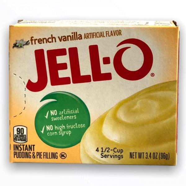 Jello Instant Pudding French Vanilla