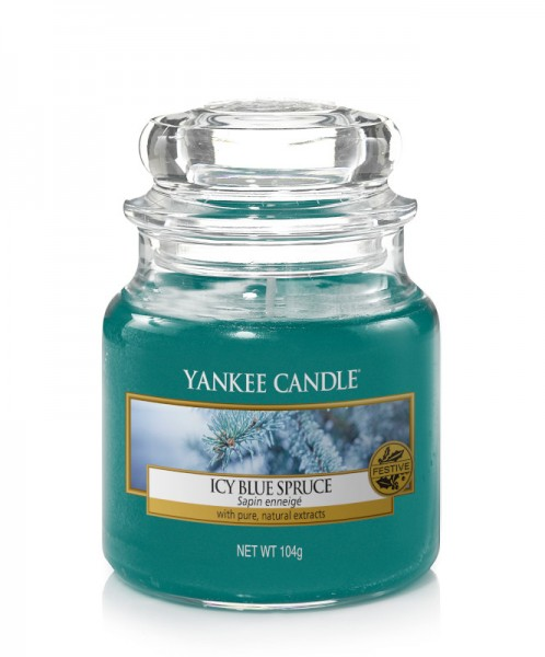 Yankee Candle Classic Kleines Glas Icy Blue Spruce