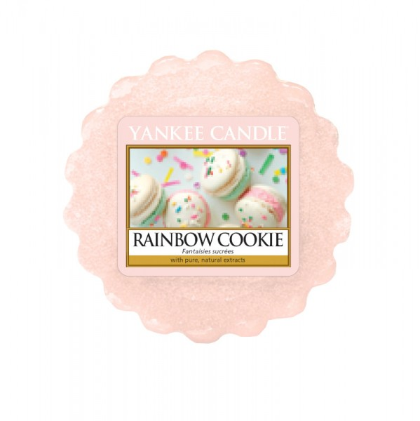 Yankee Candle Wax Tart Rainbow Cookie