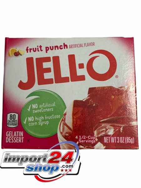 Jello-O Fruit Punch