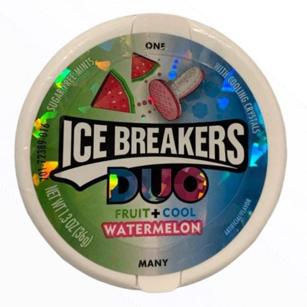 Ice Breakers Duo Fruit + Cool Watermelon