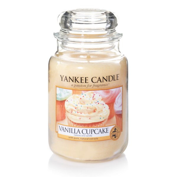 Yankee Candle Classic Großes Glas Vanilla Cupcake