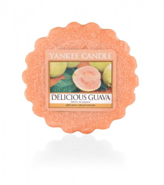 Yankee Candle Wax Tart Delicious Guava