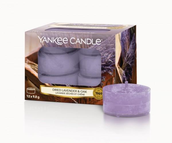 Yankee Candle Teelicht Dried Lavender & Oak