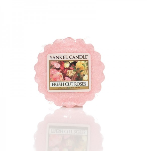 Yankee Candle Wax Tart Fresh Cut Roses