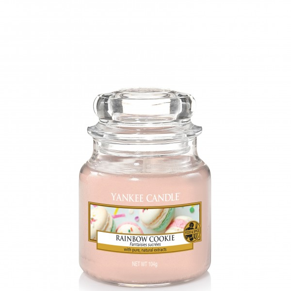 Yankee Candle Classic Kleines Glas Rainbow Cookie