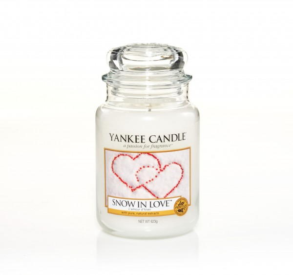 Yankee Candle Classic Großes Glas Snow In Love™