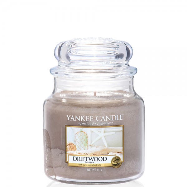 Yankee Candle Classic Mittleres Glas Driftwood