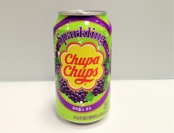 Chupa Chups Sparkling Grape 345 ml