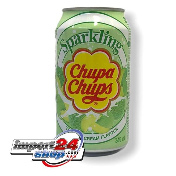 Chupa Chups Sparkling Melon & Cream (345ml.)