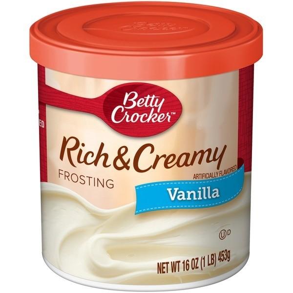 Betty Crocker Frosting - R&C Vanilla (453 g.)