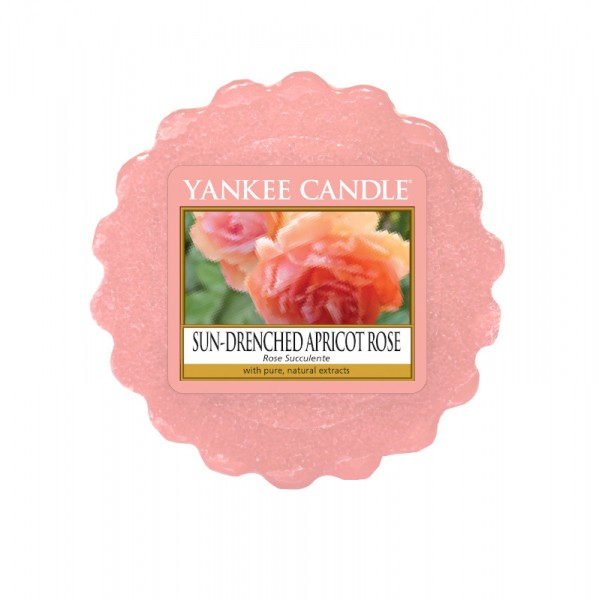 Yankee Candle Wax Tart Sun-Drenched Apricot Rose