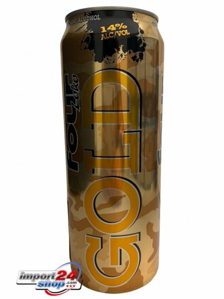 Four Loko Gold (Dose) (695 ml.)