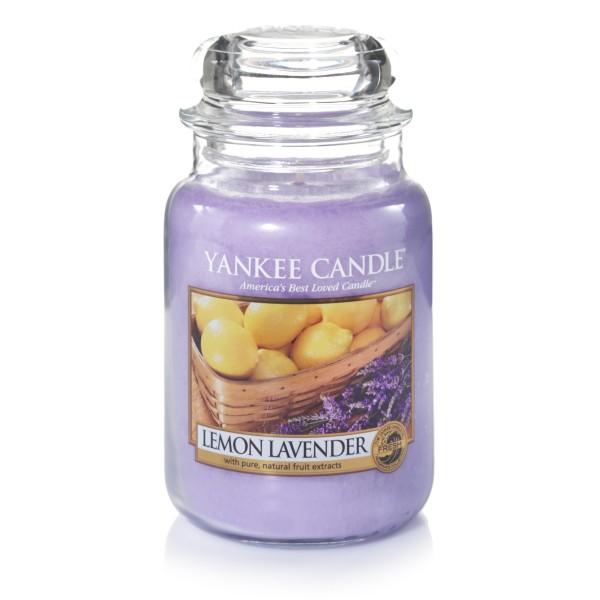 Yankee Candle Klassik Großes Glas Lemon Lavender
