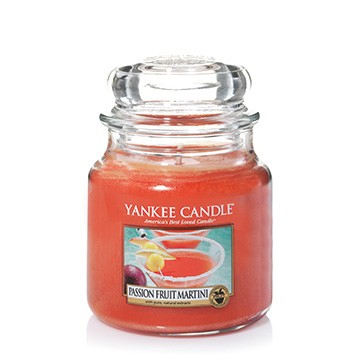 Yankee Candle Classic Mittleres Glas Passionfruit Martini
