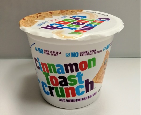 General Mills Cinnamon Toast Crunch Cereal Cup
