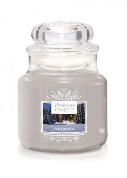 Yankee Candle Klassik Kleines Glas Candlelit Cabin
