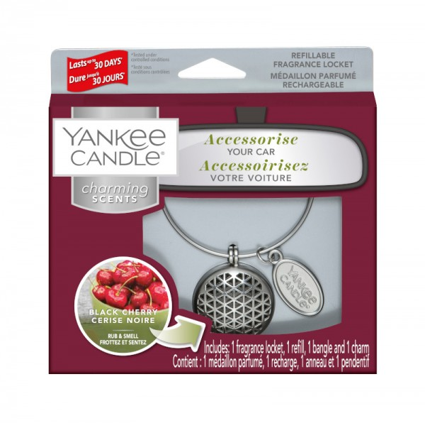 Yankee Candle Charming Scents Starter Kit Black Cherry