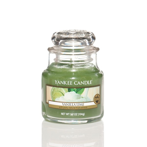 Yankee Candle Classic Kleines Glas Vanilla Lime