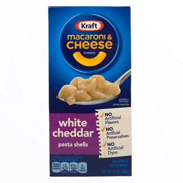 Kraft Macaroni & Cheese White Cheddar