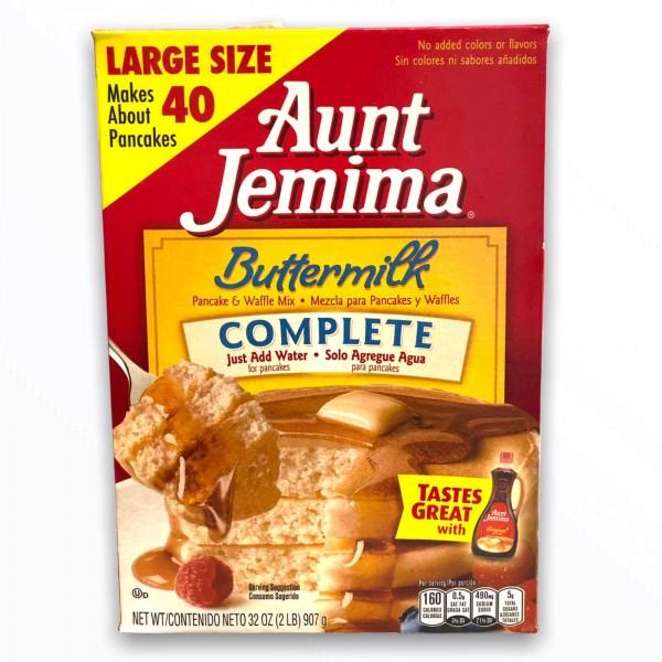 Aunt Jemima Pancake Mix Buttermilk Complete (907g)