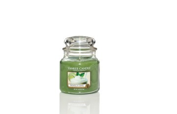 Yankee Candle Classic Mittleres Glas Vanilla Lime