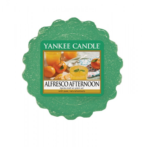 Yankee Candle Wax Tart Alfresco Afternoon