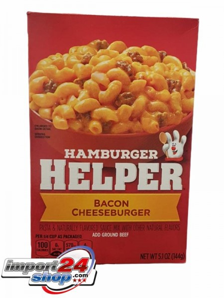 BC Hamburger Helper Bacon Cheeseburger