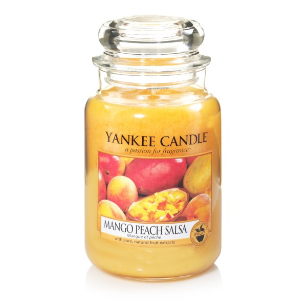 Yankee Candle Classic Großes Glas Mango Peach Salsa